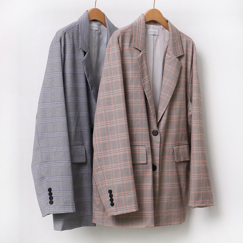 미시옷 9293L004 가벼운퀄 플랩 자켓 DL 빅사이즈 여성의류 빅사이즈 여성의류 미시옷 임부복 상큼배색글랜자켓