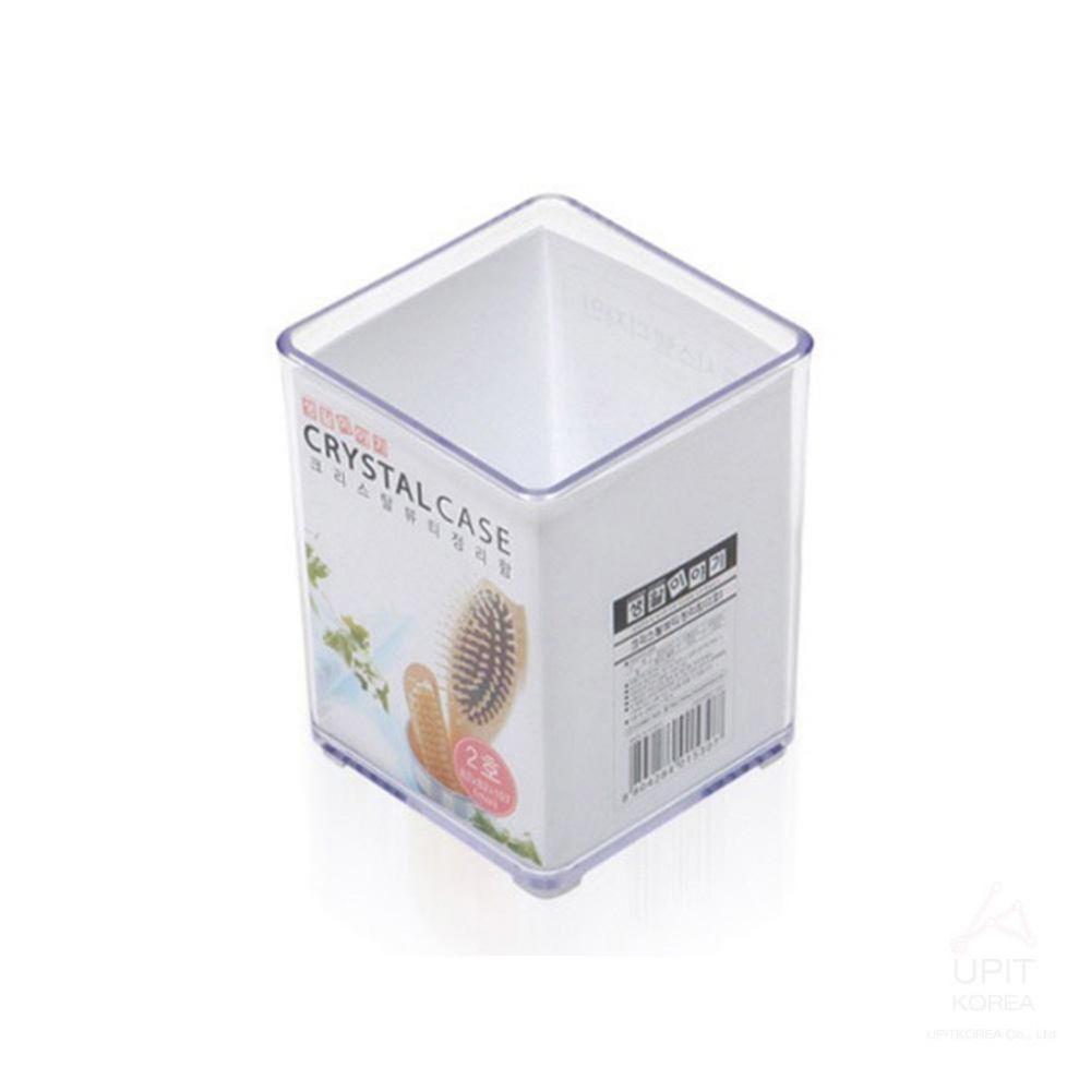 GM)크리스탈 뷰티 정리용품 2호_5307 생활용품 가정잡화 집안용품 생활잡화 잡화