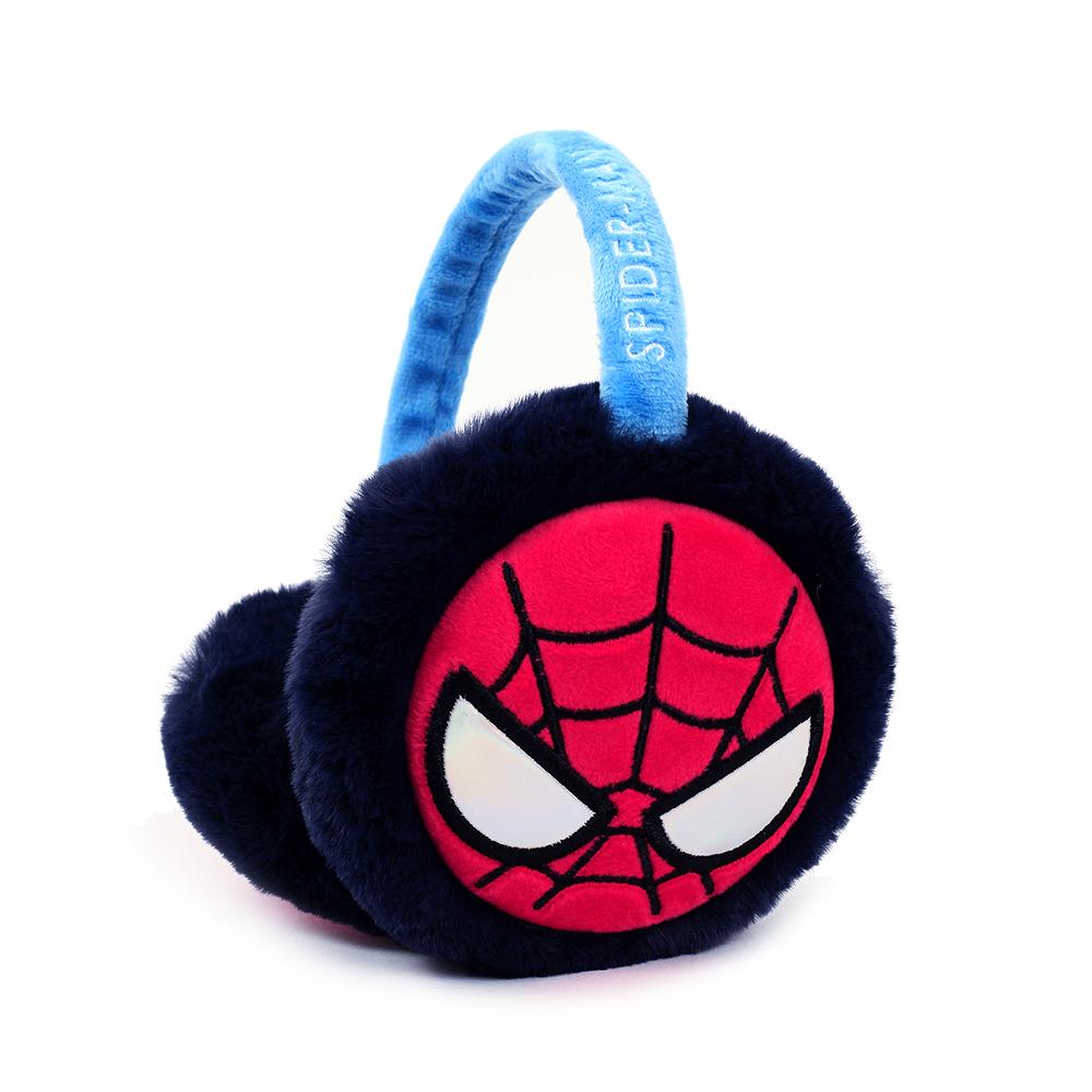 마블 스파이더맨 페이스 귀마개 겨울용품 방한용품 귀마개 목도리 넥워머 털모자 비니 장갑 아동귀마개 아동목도리