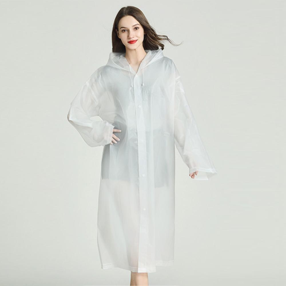 미시옷 2504L911 가벼운 우의 레인 코트 JY 빅사이즈 여성의류 빅사이즈 여성의류 미시옷 임부복 초경량우비레인코트