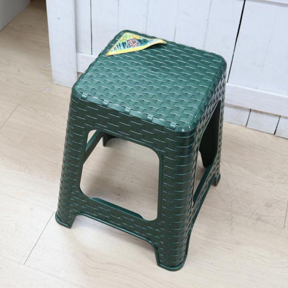 대나무의자 대 골드 보조의자 생활용품 다용도의자 의자 간이의자 생활용품 다용도의자 보조의자