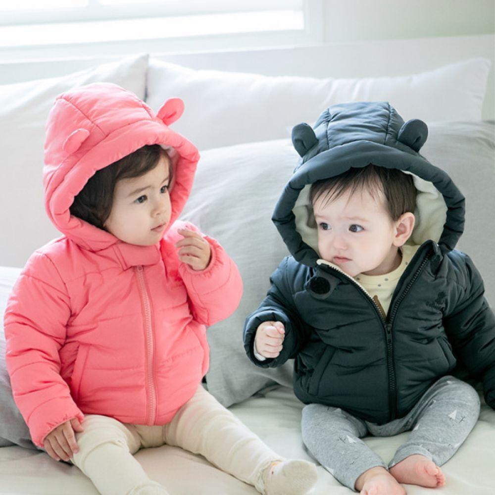 도톰 곰돌이 유아 패딩점퍼(6개월-4세) 203710 아기점퍼 유아점퍼 아기패딩 유아패딩 아기방한복 유아방한복 아기잠바 유아잠바 유아패딩점퍼 아기패딩점퍼