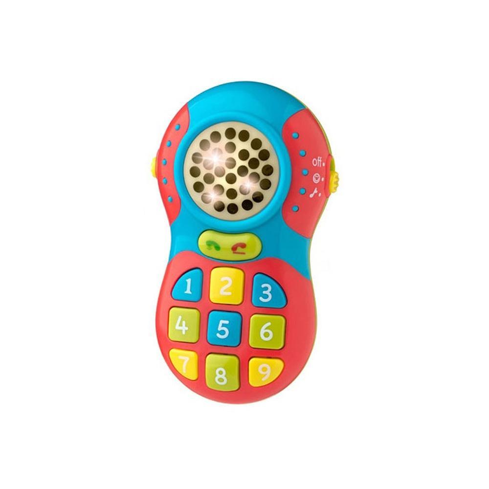 선물 아이 장난감 빛나는멜로디 아기 휴대폰 조카 유아원 장난감 2살장난감 3살장난감 4살장난감