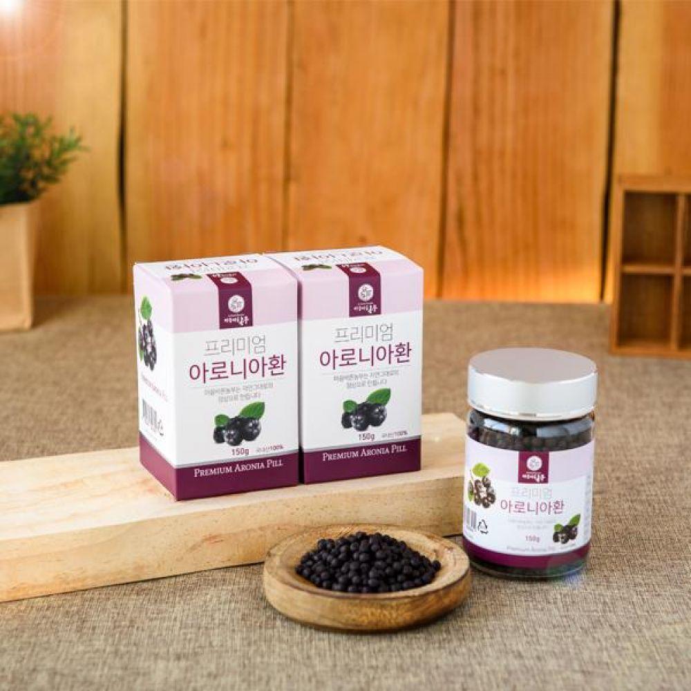 아로니아 환 150g 국내산 아로니아의 떫은 맛을 줄인 동결건조 제품 식품 농축산물 건강식품 환 아로니아