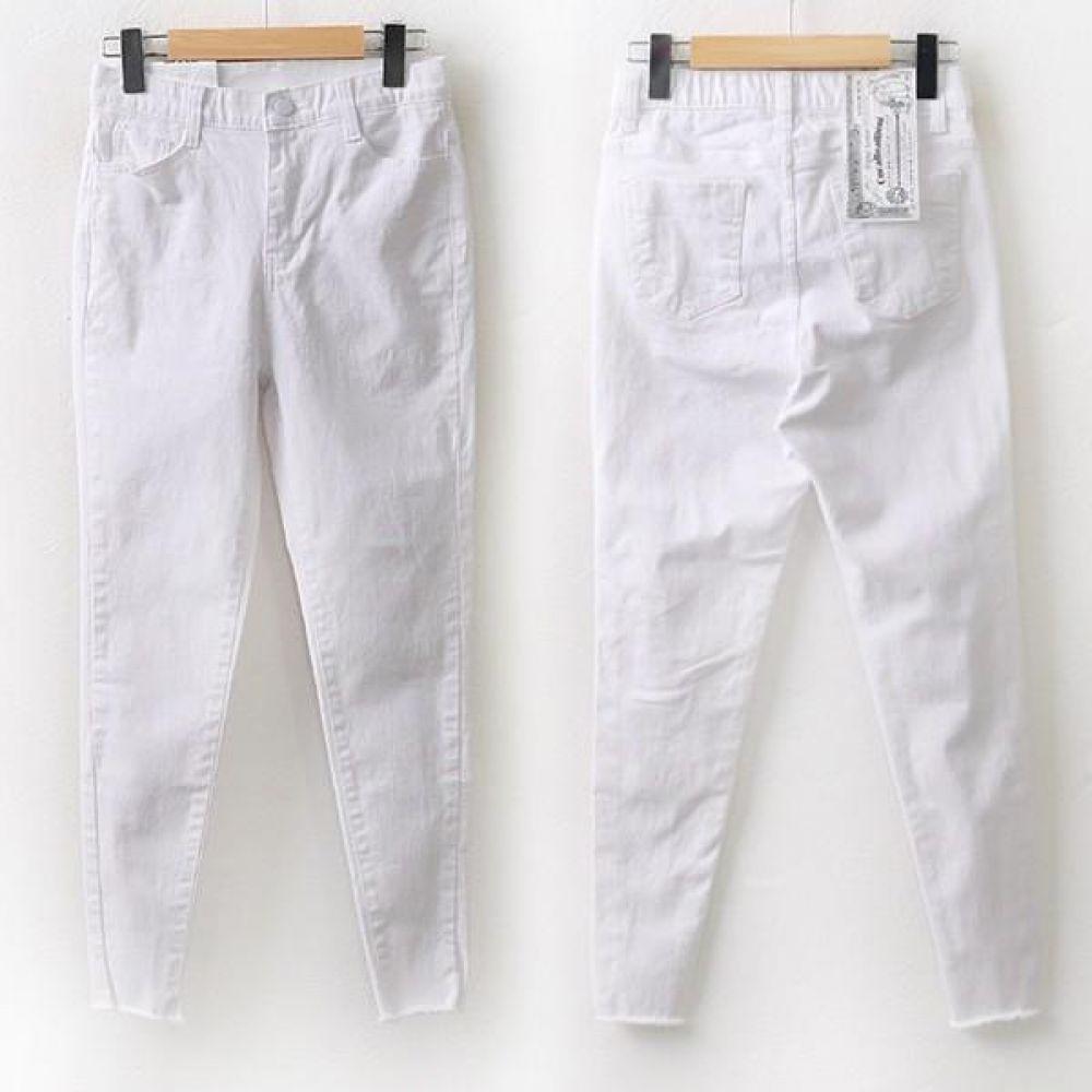 빅사이즈 004 쫀쫀 컷팅 면 스키니 DCA9226 빅사이즈 여성의류 미시옷 임부복 004쫀쫀컷팅면스키니DCA9226