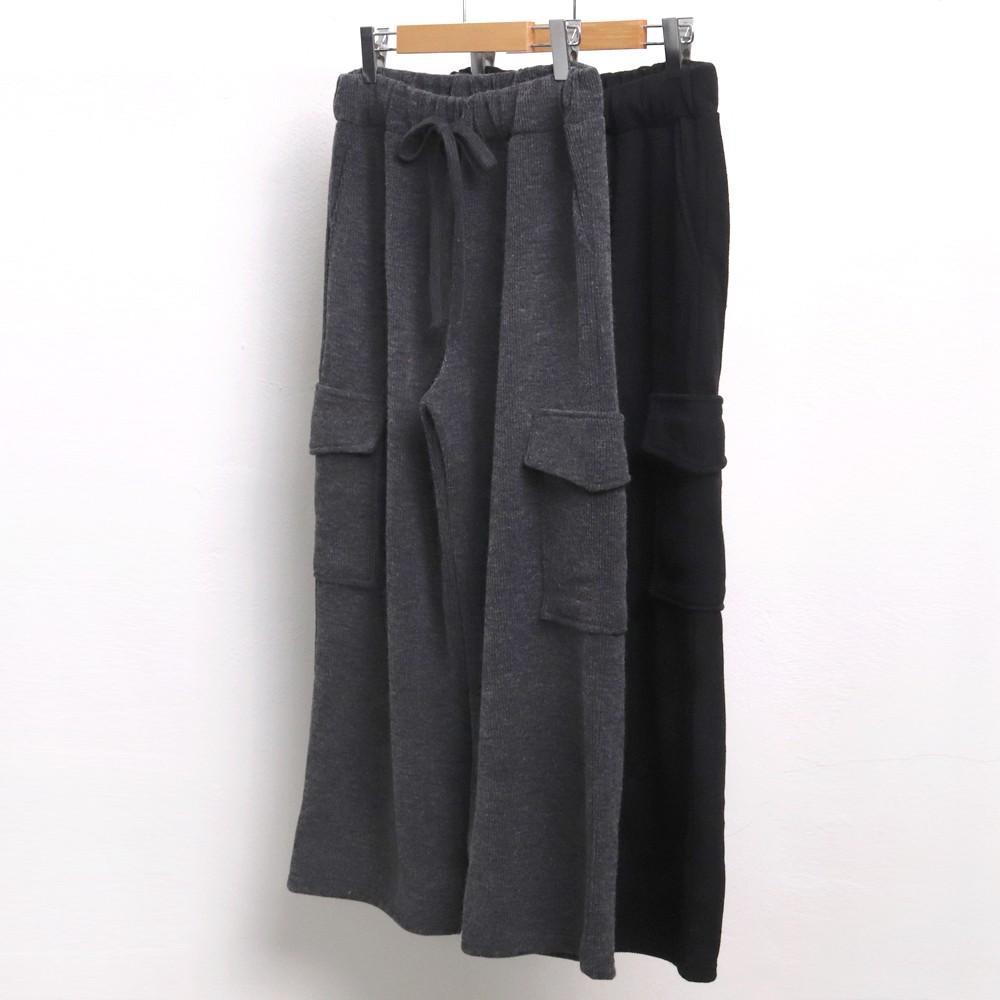 미시옷 7203L911 카고 포켓 니트 바지 ZY 빅사이즈 여성의류 빅사이즈 여성의류 미시옷 임부복 니트카고통밴딩바지
