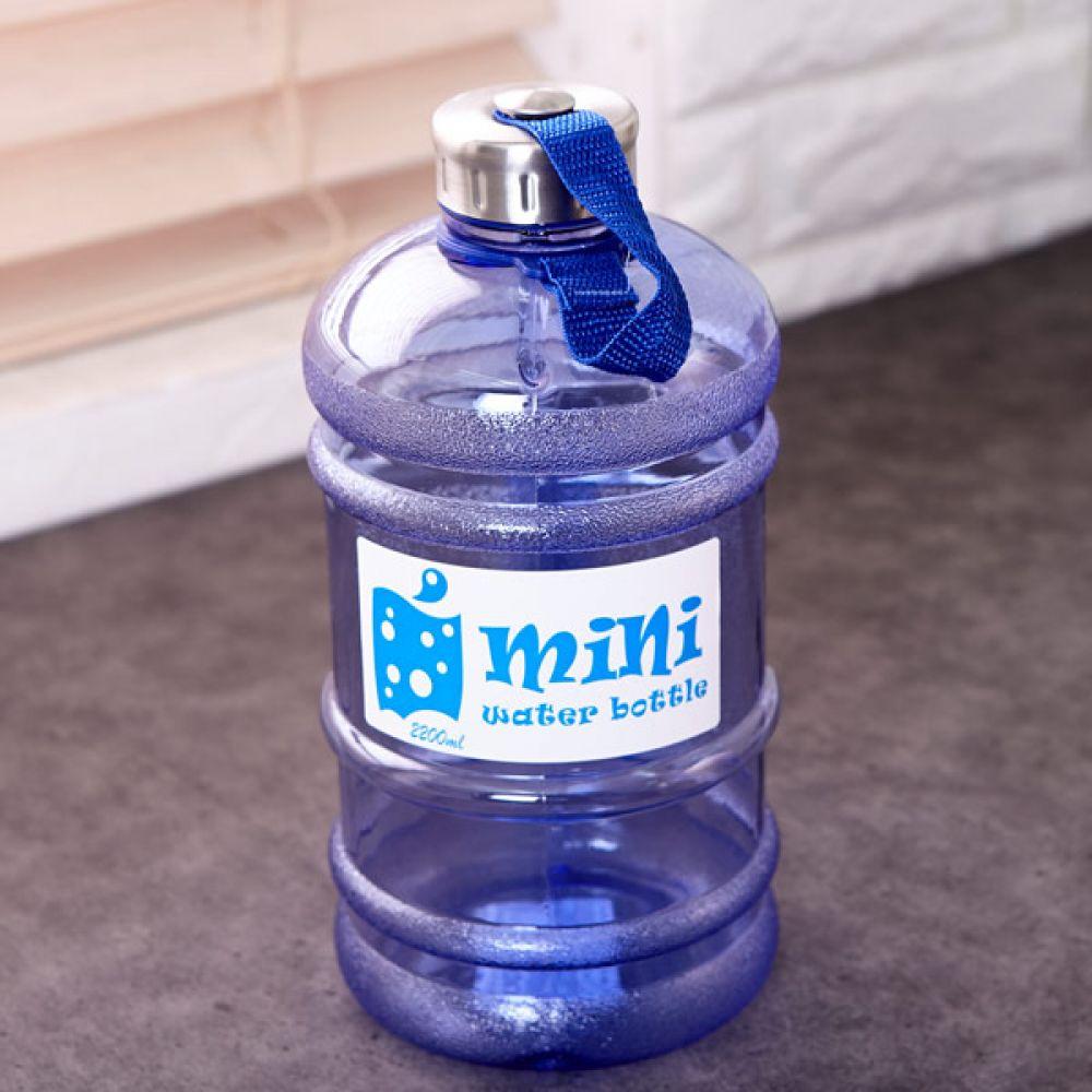 미니 생수병 2.2L 텀블러 물병 보틀 물통 휴대용물통 텀블러 물병 보틀 물통 휴대용물통
