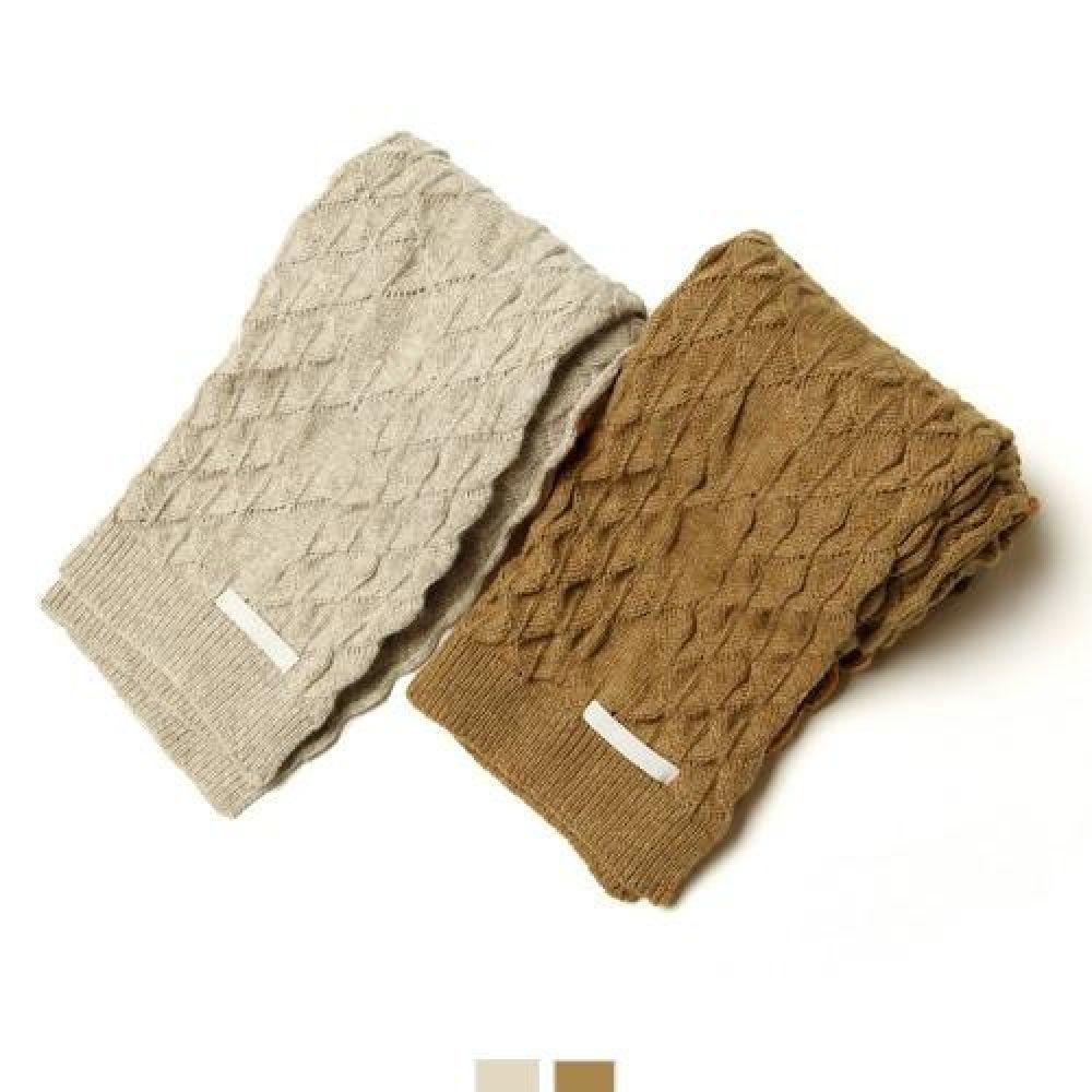 커플시밀러룩 꽈배기목도리 2color 꽈배기목도리 숏머플러 커플목도리 숄머플러 머플러 캐시미어머플러 체크머플러 면머플러 털목도리 니트머플러