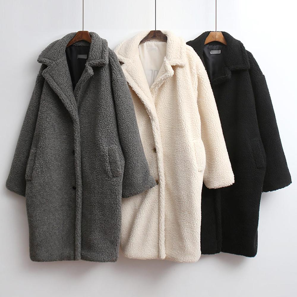 미시옷 7397L911 덤플 오픈 롱 코트 PO 빅사이즈 여성의류 빅사이즈 여성의류 미시옷 임부복 베네타양털롱코트