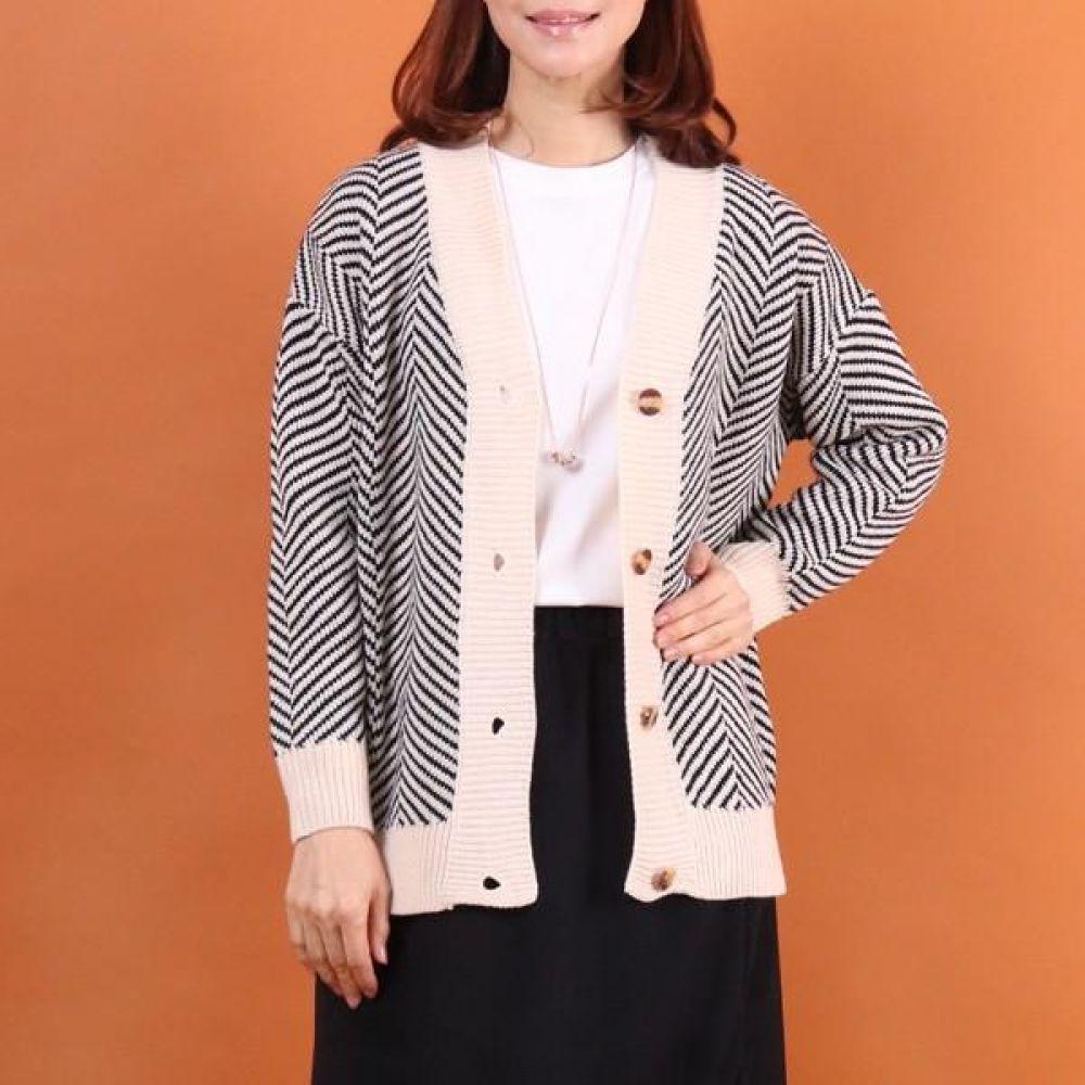 빅사이즈 002 유니크 패턴 가디건 DWC7355 빅사이즈 여성의류 미시옷 임부복 002유니크패턴가디건DWC7355