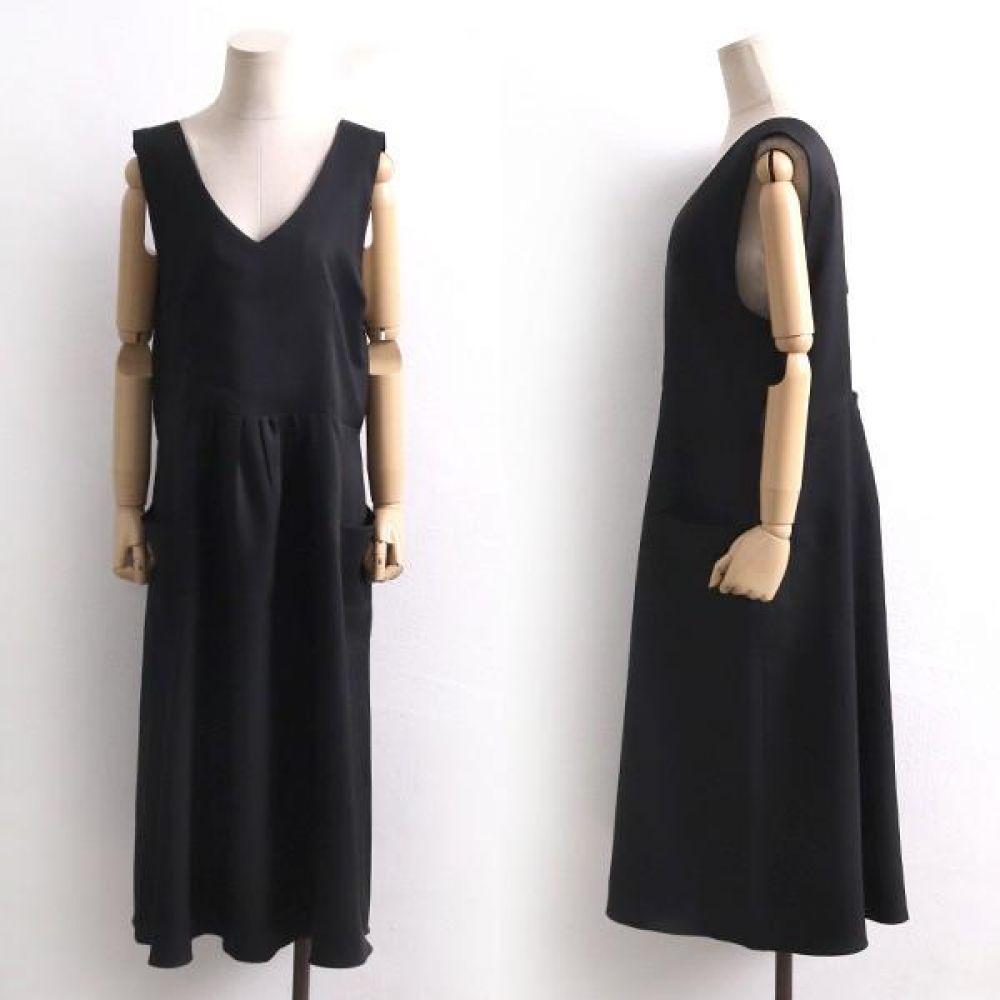 빅사이즈 002 스트랩 딥브이 원피스 DCH8332 빅사이즈 여성의류 미시옷 임부복 002스트랩딥브이원피스DCH8332