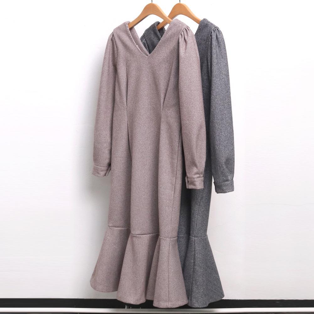 미시옷 7538L912 핀탁 하운드 원피스 MO 빅사이즈 여성의류 빅사이즈 여성의류 미시옷 임부복 안젤라하운드원피스