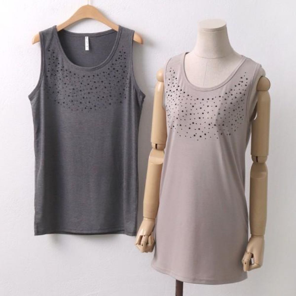 빅사이즈 003 블랙 피스 비즈나시 DMN5760 빅사이즈 여성의류 미시옷 임부복 003블랙피스비즈나시DMN5760