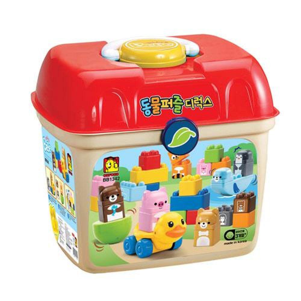 옥스포드 BB-1342 동물퍼즐 디럭스 장난감 완구 토이 남아 여아 유아 선물 어린이집 유치원