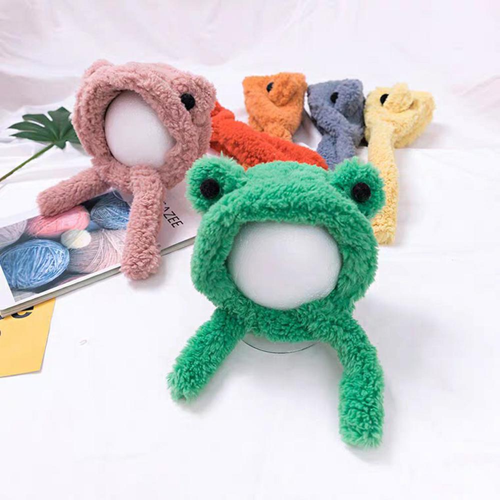 아동 어린이 개구리귀 퍼 귀도리 모자(6colors) 개구리모자 개구리귀도리모자 귀여운귀도리모자 귀도리모자 유아용귀도리모자 예쁜귀도리모자 어린이귀마개 어린이귀도리모자 아동귀도리모자 어린이퍼귀도리모자