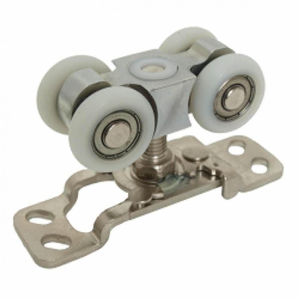 610(벽면레일용)-4륜롤러-원터치 생활용품 철물 철물잡화 철물용품 생활잡화