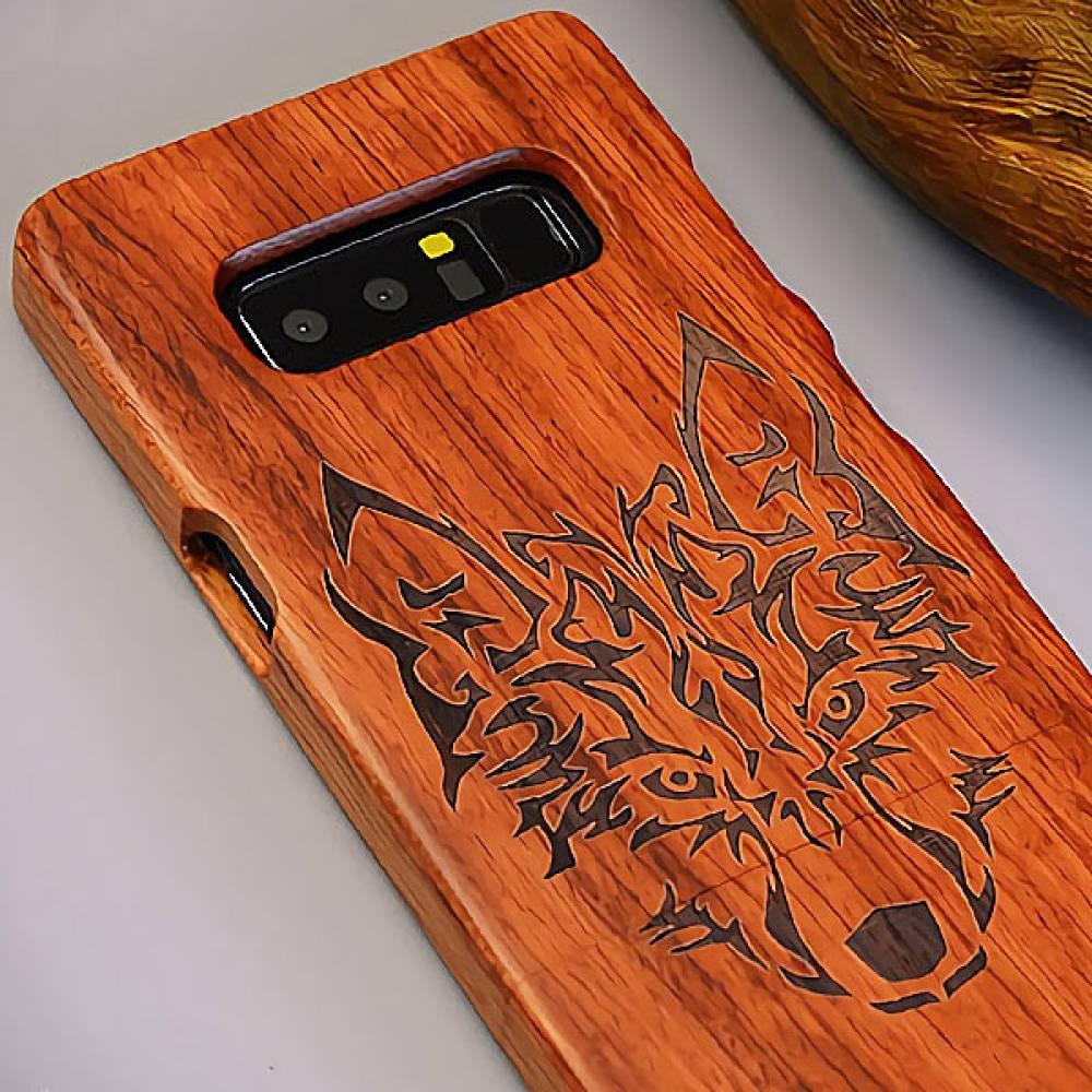 P256 아이폰6S플러스 원목 조각 패턴 하드케이스