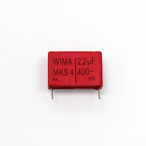 위마 콘덴서 캐패시터 Wima 400V 2.2uF / MKS4 / 2개