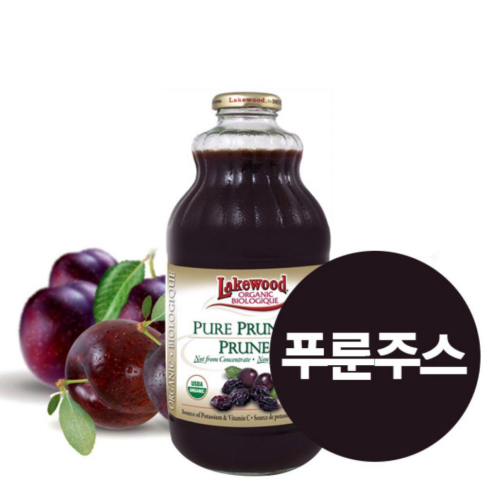(레이크우드) 푸룬 압착쥬스 원액 (946ml) 과즙 건강 보조 주스 신체