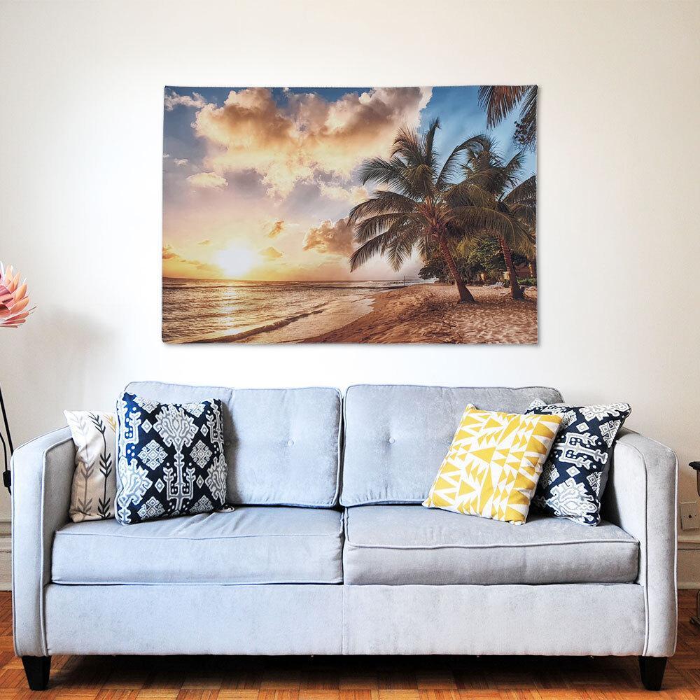 대형 패브릭 포스터 코코넛비치 M