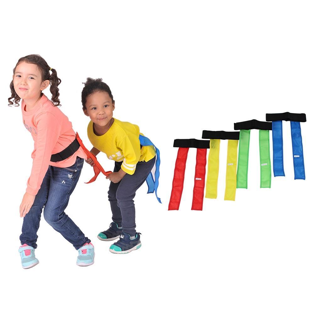 1세트 신체 놀이 유아 체육 교구 꼬리잡기 4개 키더스 체육교구 신체놀이 유아체육 유아체육교구