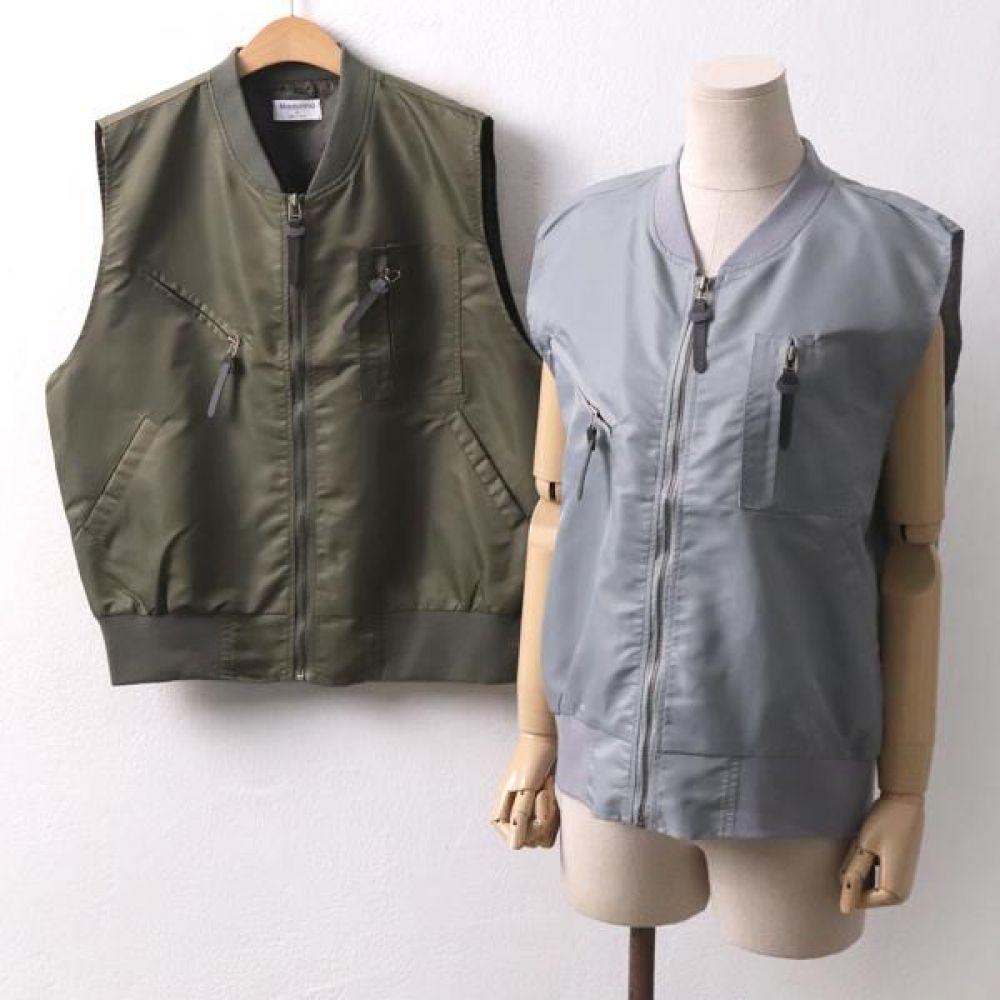 빅사이즈 001 항공 시보리 베스트 DMO8015 빅사이즈 여성의류 미시옷 임부복 001항공시보리베스트DMO8015