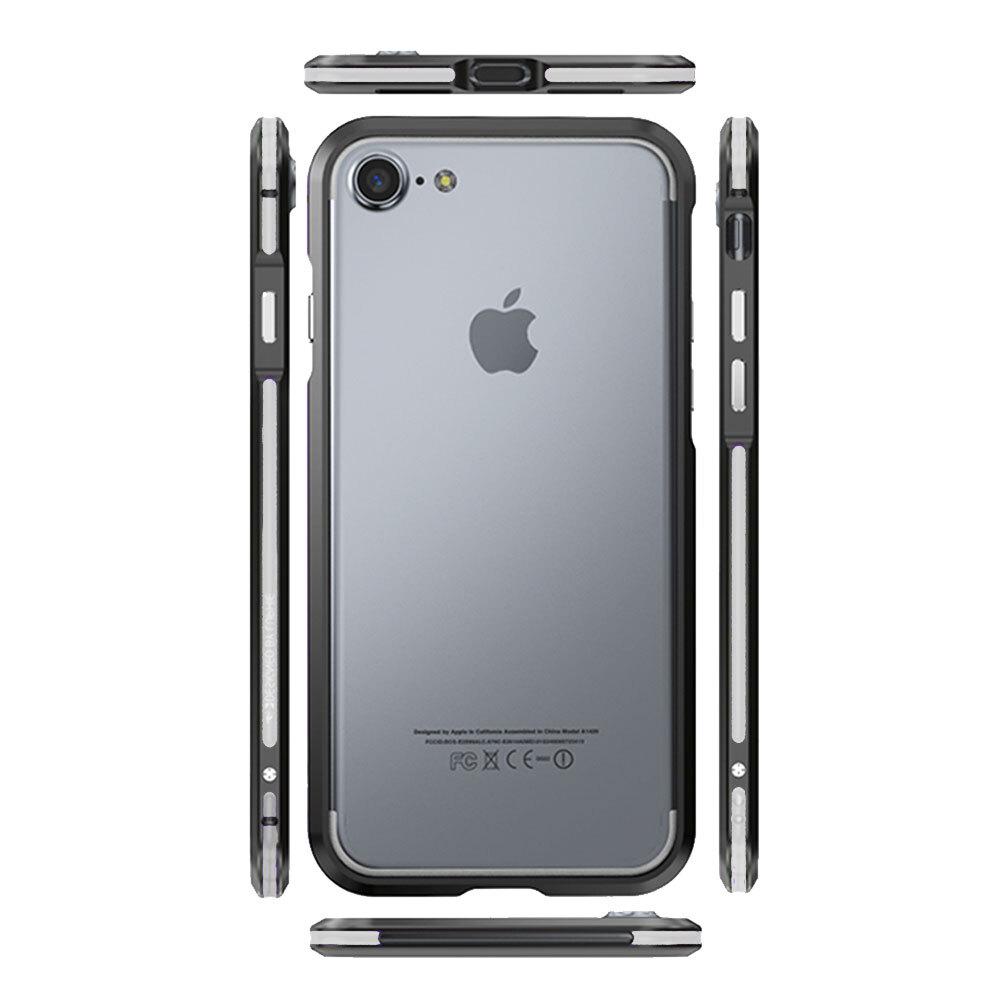 P089 아이폰6S플러스 심플 컬러 범퍼 메탈 케이스