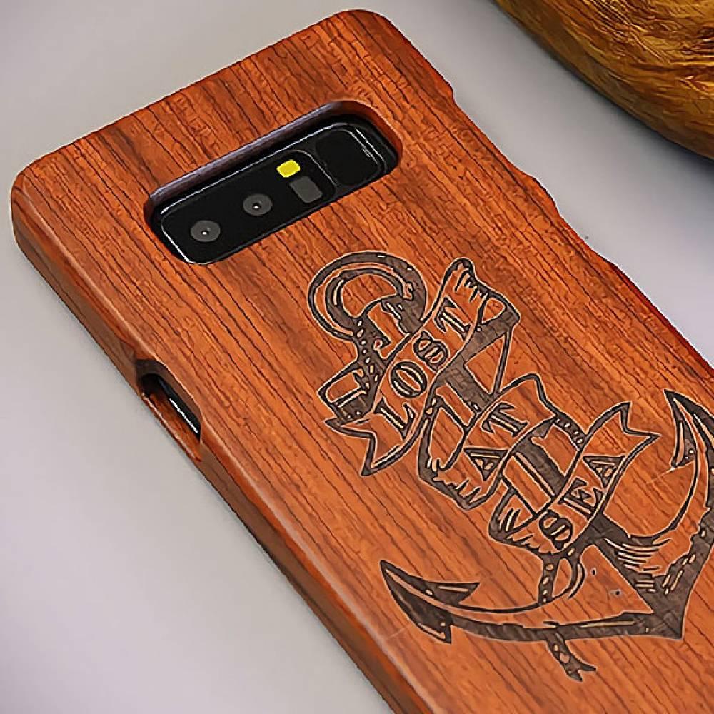 P256 아이폰6플러스 원목 조각 패턴 하드케이스