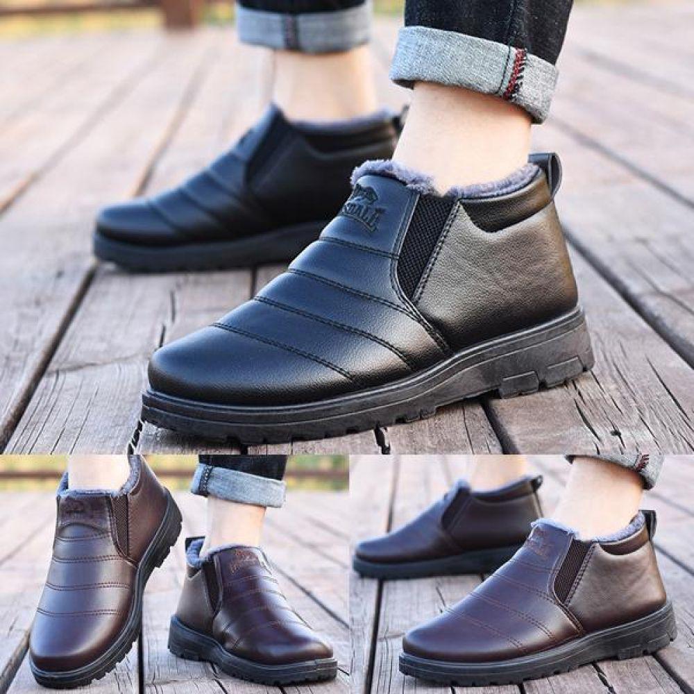 방한화 털부츠 털워커 앵클부츠 로퍼 효도화 TM8929 스니커즈 단화 방한화 털신발 털단화 남자신발 겨울신발