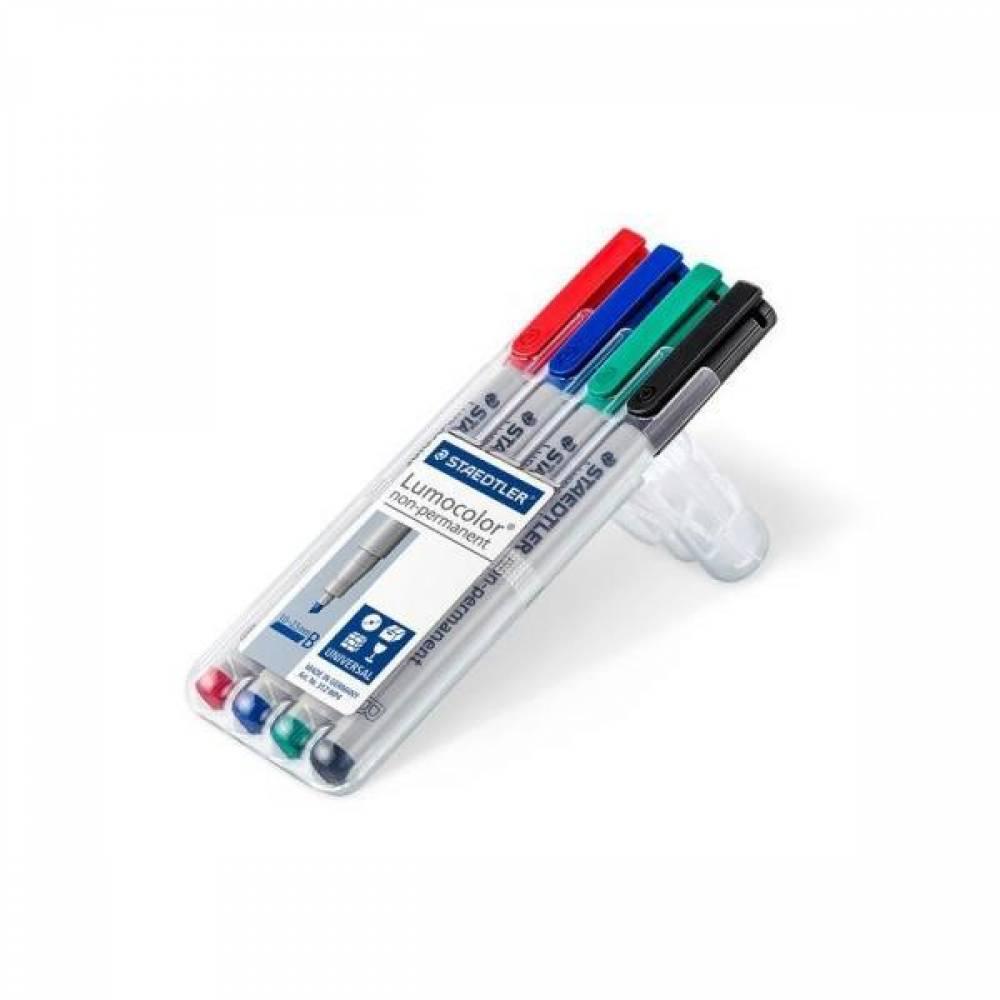 스테들러 루모칼라 312WP4 다용도 수성펜세트 문구/펜/드로잉 [제작 로고 인쇄 홍보 기념품 판촉물]