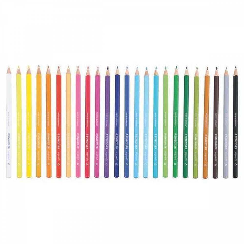 스테들러 에고소프트 157 낱개선택 색연필 컬러링북색연필 연필색연필 [제작 로고 인쇄 홍보 기념품 판촉물]