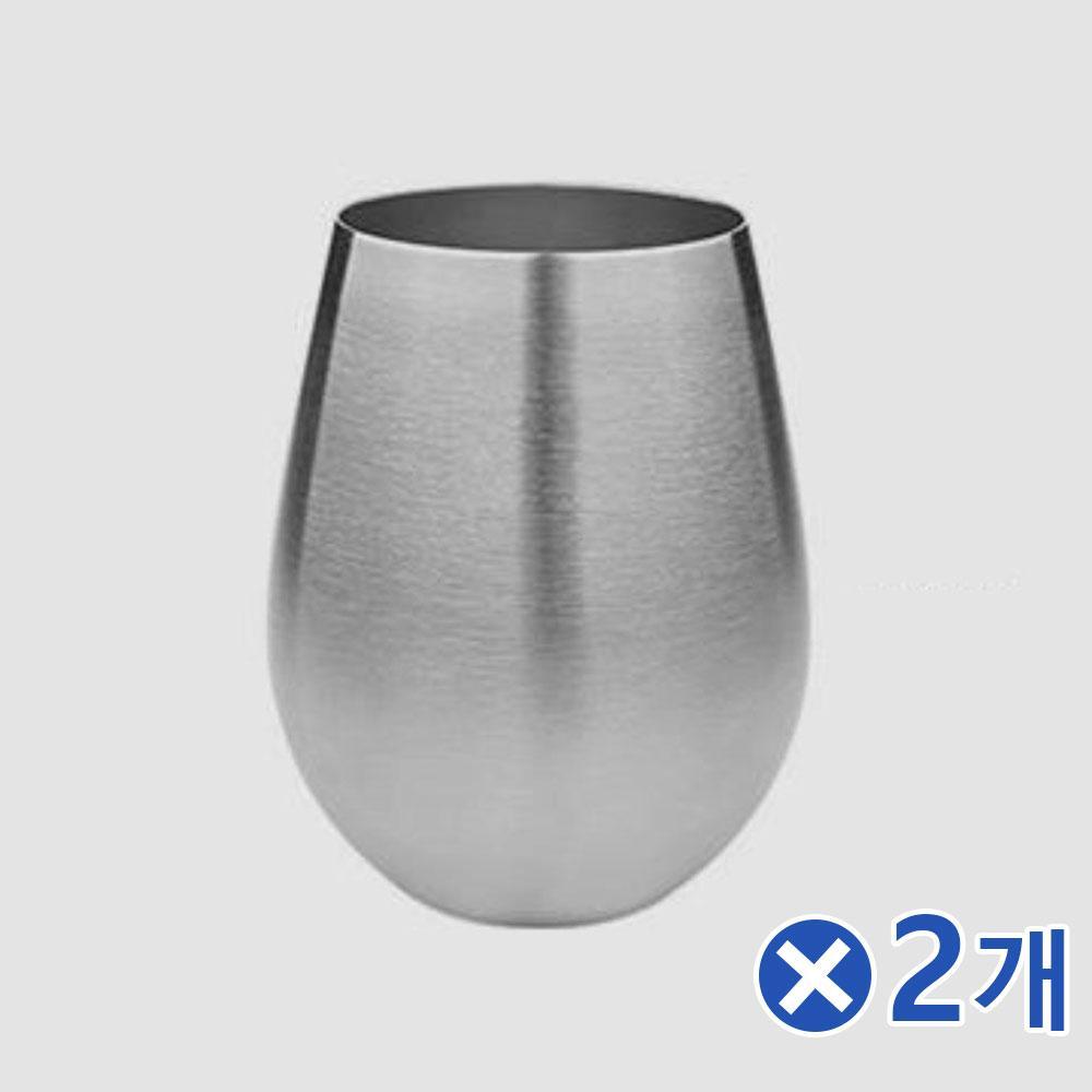 깔끔한 스텐 보온보냉 주스컵 500mlx2개 보온컵 여름